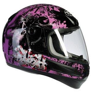 TORX Motorradhelme Bobby black pink: M