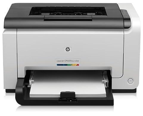 HP Color LaserJet Pro CP1025nw Farblaserdrucker (600x600 dpi, WLAN, USB 2.0) weiß/schwarz