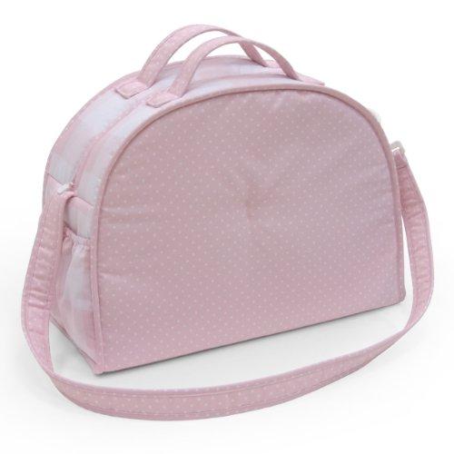 Cambrass, Borsa per gli accessori del neonato, 45 x 19 x 33 cm, Blu (Hellblau) Rosa (Rosa)