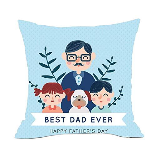 OPAKY Vatertag leinen Kissenbezug komfortable Sofa Kissen Set Dekoration