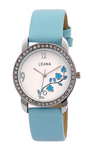 Leana LW149 Round Analog Watch For Girls
