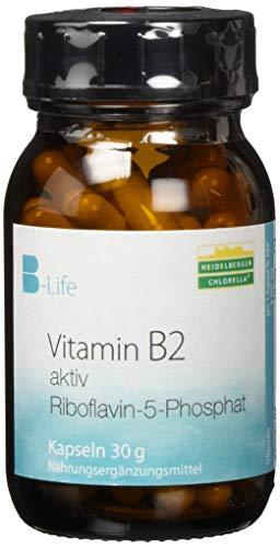 Heidelberger Chlorella Vitamin B2 aktiv Kapseln, 30 grams