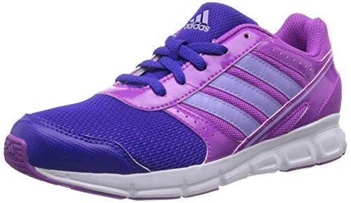 adidas - Hyperfast, scarpe da ginnastica  per bambine e ragazze, viola(violett (flash pink s15/glow purple s14/night flash s15)), 38