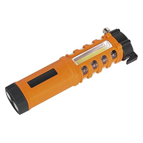 Sealey LED059 COB Plus Lampe de poche d'urgence 16 LED rouges et 1 W LED Noir 2 W