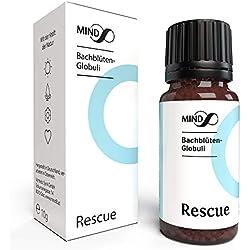 mind8 Bachblüten Rescue Globuli - Dr. Bach Remedy Notfall Globuli