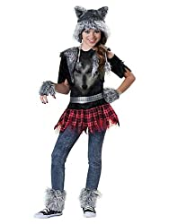 Premium werewolf costume for girls