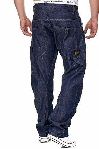 Herren Jeans Knight Denim 123 Dark Blue
