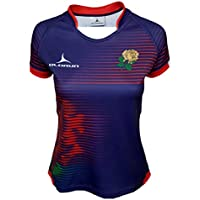 Olorun England Contour Home Nations Ladies Away Rugby Shirt 8-22