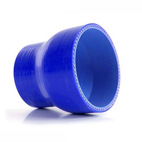 DealMux 64mm bis 76mm Gerade Turbo Reducer Silikon-Schlauch-Koppler Blau (4 Gewicht Ply)