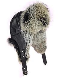 Cappello berretto uomo Canis latrans PELLICCIA berretto cappello berretto  invernale da donna spingerete ushanka Polar Aviator 7b14f01e21bc