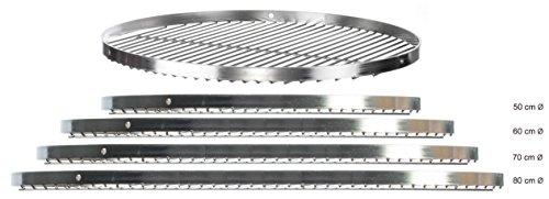 brandseller BRANDSSELLER Edelstahl Grillrost Schwenkgrill Geeignet – Rostfrei Edelstahl 18/0 ASI 430 Nickelfrei