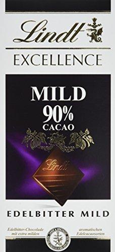 Lindt & Sprüngli Excellence 90 %, 5er Pack (5x 100 g)