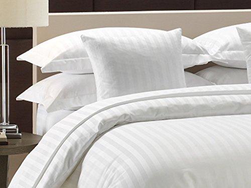 Lali Prints Luxury Cotton Duvet Cover - King Size, White