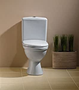 stand wc set toilette bodenstehend abgang waagerecht sp lkasten keramik wc sitz. Black Bedroom Furniture Sets. Home Design Ideas
