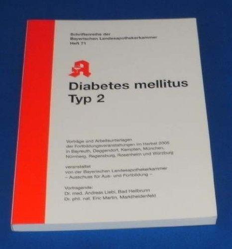 Diabetes mellitus Typ 2 (Livre en allemand) par Andreas Liebl
