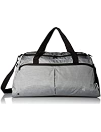 cb0e6d1008cb Under Armour Polyester 11.8 inches Black Full Heather Sports Duffel  (1306406)