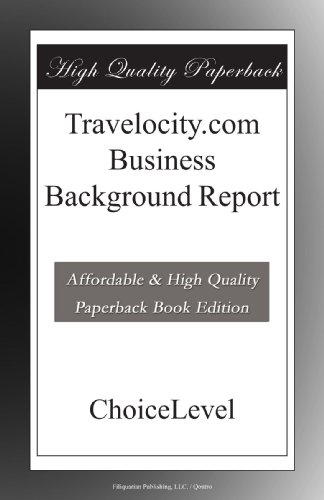 travelocitycom-business-background-report