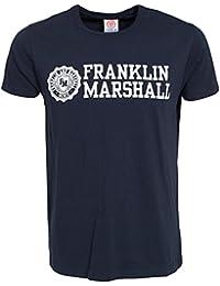 Franklin & Marshall Herren TSMVA299S15 Navy X-Large