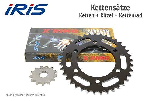 IRIS Kette & ESJOT Räder 866-432 IRIS XR Kettensatz ZZR 600 D3-D3 90-92