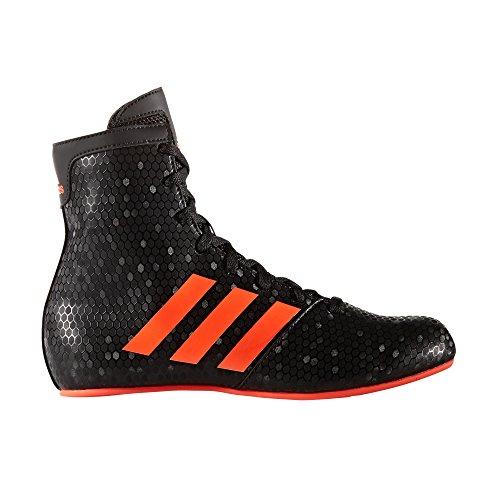 Adidas KO negro, botas de boxeo de leyenda - niños - rojo UK 3 - EU 3