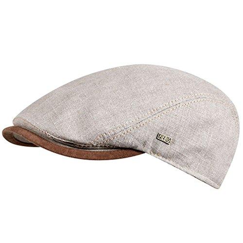Fiebig - Herren & Damen - Schiebermütze Flatcap Cap Mütze Schirmmütze - 41175...