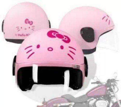 Casco da moto Hello Kitty ros