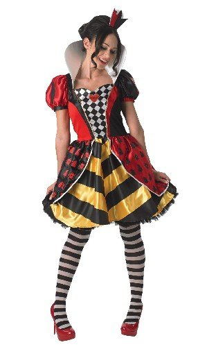 Rubies 3810248 - Queen of Hearts - Adult, Verkleiden und Kostüme, (Queen Hearts Hat Of)