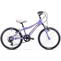 ROMET 20 Zoll Kinderfahrrad Mountenbike BMX Alurahmen,gefedert 6 Gang