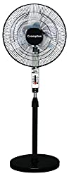 Crompton Windmill 400mm Pedestal Fan (Chrome Black)