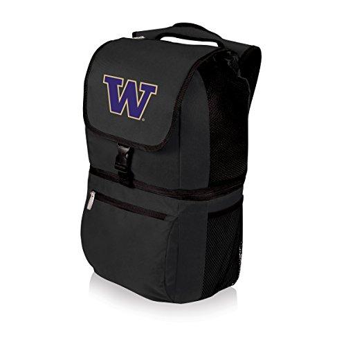 Picnic Time NCAA Isolierte Kühltasche in Washington, Huskies Zuma, Unisex, schwarz Washington Huskies Handy