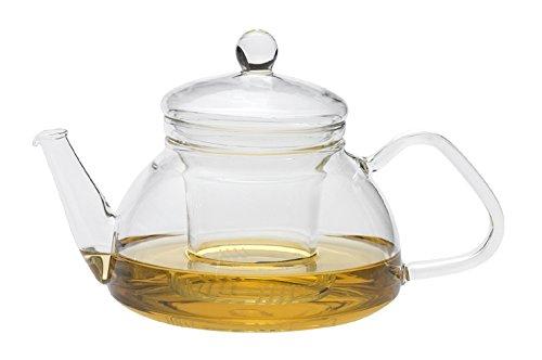 Trendglas Jena Teekanne THEO im traditionellen Design mit Glassieb, 0,6 Liter