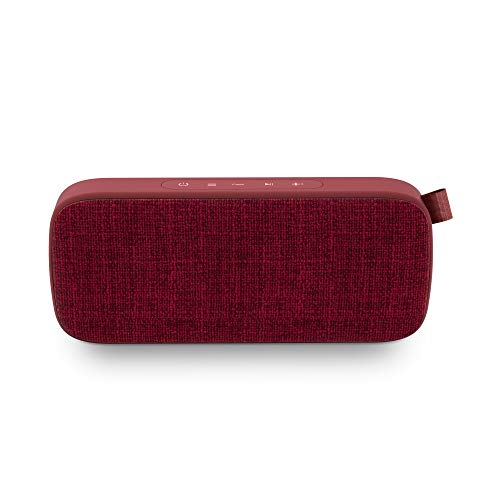 Energy Fabric Box 3+ Trend Cherry - Altavoz portátil (TWS, Bluetooth v5.0, 6W,...