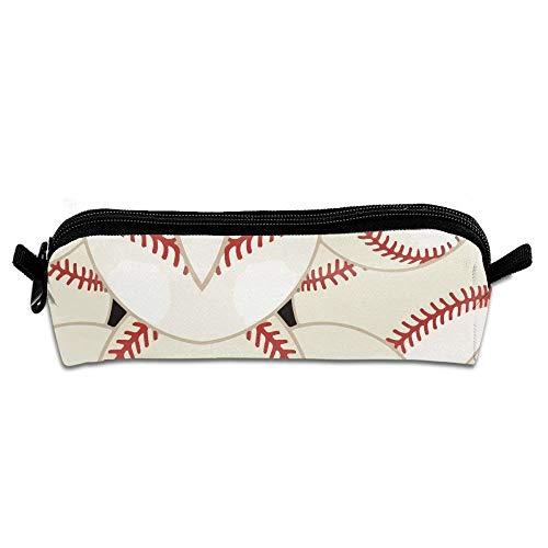 Baseball Stitches Sports Multifunktions-Kosmetiktasche Große tragbare Kosmetiktaschen