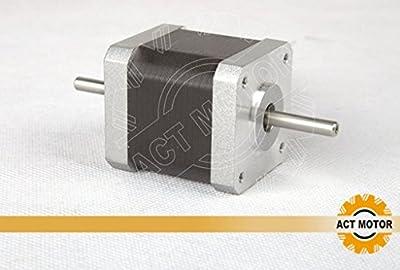 ACT Motor GmbH 1 Stück Nema17 Stepper Motor 17HS5425B24 Schrittmotor 2.5A 48mm 48N.cm CNC 3D Printer Fräsmaschinen
