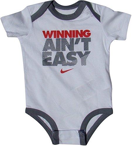Nike Baby Body Set mit 3 Gewinnen ist nicht einfach (6/9 Monate) (Baby-kleidung Set Nike)
