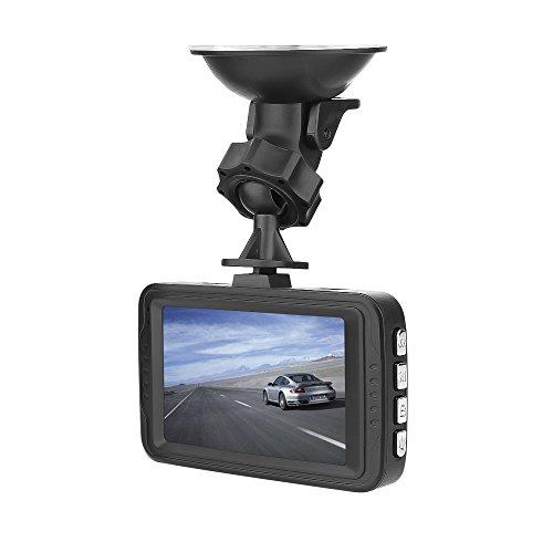 HLKYB Driving Recorder, 1080P HD G-Sensor DVR Dash Cam Vehicle Video Recorder, mit G-Sensor Motion Detection Loop Record Vehicle Motion Sensor