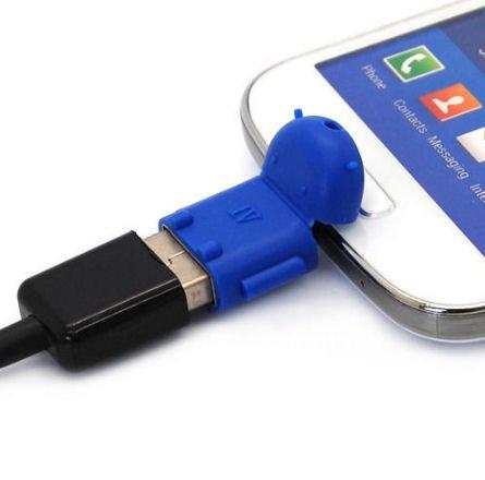 KRS A1 Blau - USB OTG Robot - Adapter -