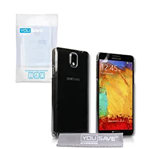 Yousave Accessories SA-EA02-Z702 Coque pour Samsung Galaxy Note 3 Clair