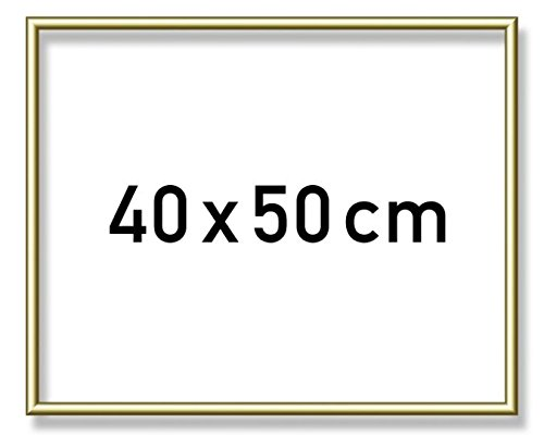 Schipper 605110710 - Malen nach Zahlen Alurahmen, 40 x 50 cm, gold
