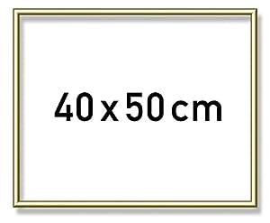 Noris Spiele 605110710 - Schipper Pintura por números Marco de Aluminio, 40 x 50 cm
