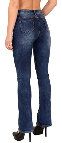 Jean femme bootcut High Waist Jean pour femmes taille haute Jeans J287 Typ-J287