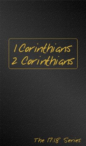 1 & 2 Corinthians: Journible the 17: 18 Series (Journibles: the 17:18)