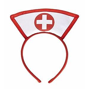 widmann-wdm9861N disfraz Adulto Unisex, blanco Rojo, wdm9861N