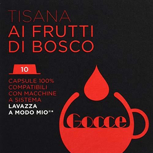 Gocce Tisana Frutti di Bosco Compatibili Lavazza a Modo Mio - 100 Capsule