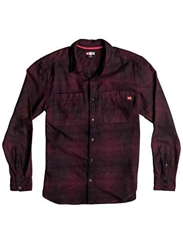 Herren Hemd lang DC Venetian Hombre Flannel Hemd winetasting/plaid_1