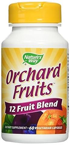 Natures WayWay, Orchard Fruits, 12 Fruits, 60 Vcaps