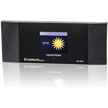 Albrecht DR 460 C Internet-Radio Adapter mit Farbdisplay zum Anschluß an die Stereoanlage
