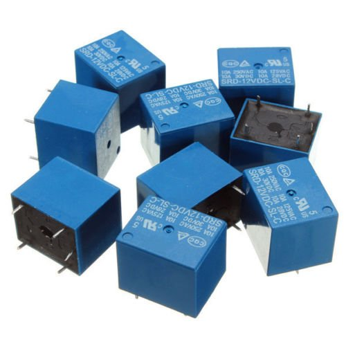 MAKER AND HACKER 5 pcs 12V PCB MOUNT SUGAR CUBE RELAY