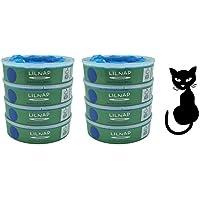 LILNAP - Nachfüllkassetten für Litter Locker II (8 Stück)