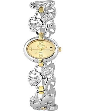 Excellanc Damen-Armbanduhr XS Analog Quarz verschiedene Materialien 154017500011